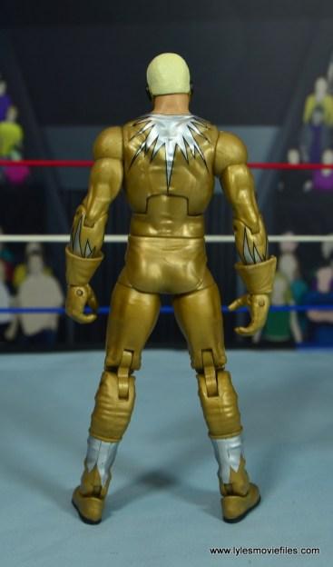 WWE Goldust figure review - rear
