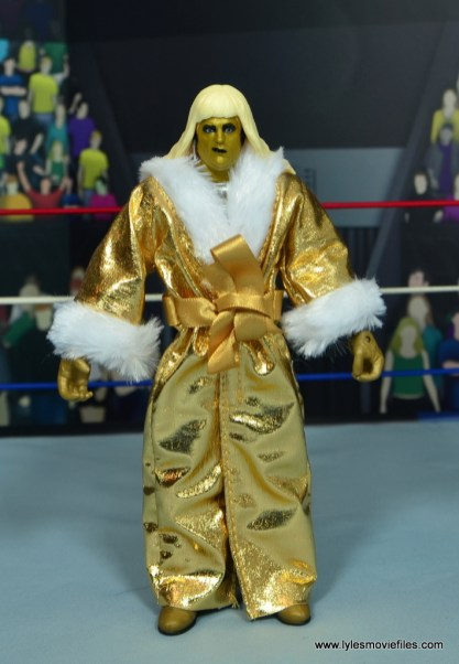 WWE Goldust figure review - robe front