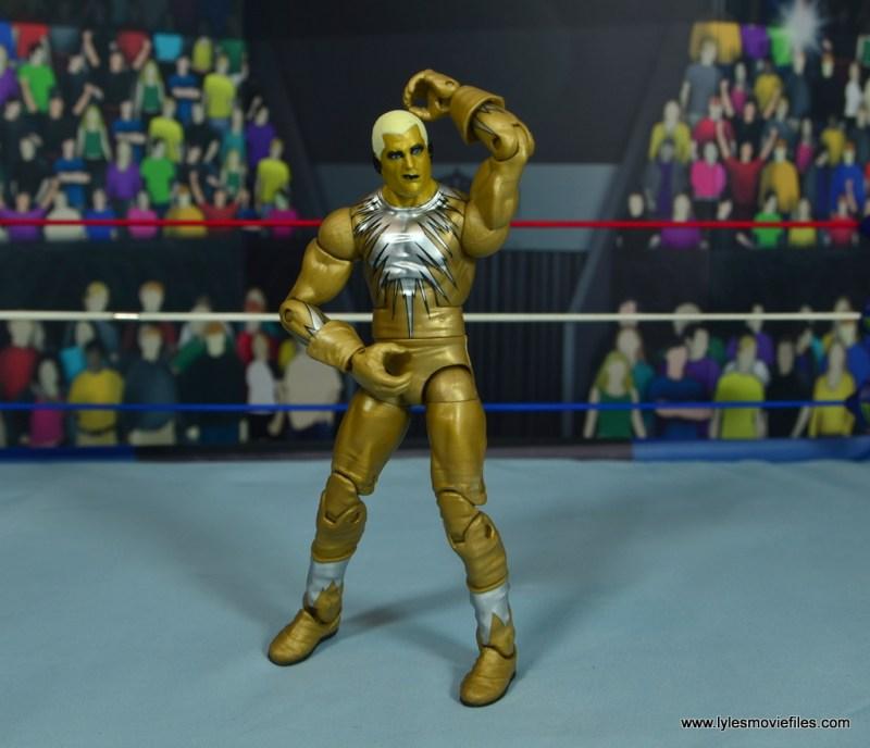 WWE Goldust figure review - touching himself