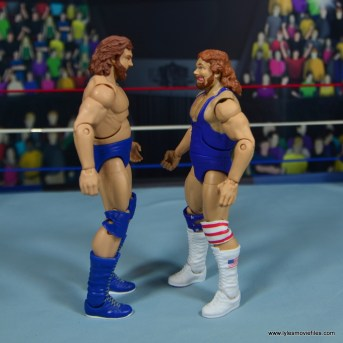 WWE Retrofest Hacksaw Jim Duggan figure review -facing legends duggan