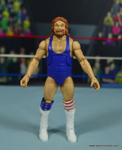 WWE Retrofest Hacksaw Jim Duggan figure review - front