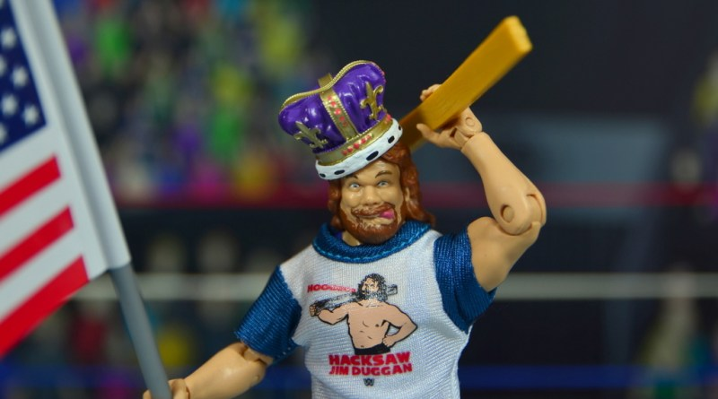 WWE Retrofest Hacksaw Jim Duggan figure review - main pic