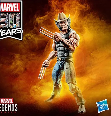 X-Men Marvel Legends 6-Inch Cowboy Logan Action Figure - Exclusive