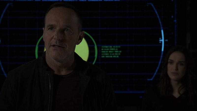 agents of shield option two review - coulson and simmons