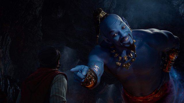 aladdin movie review - aladdin meets genie