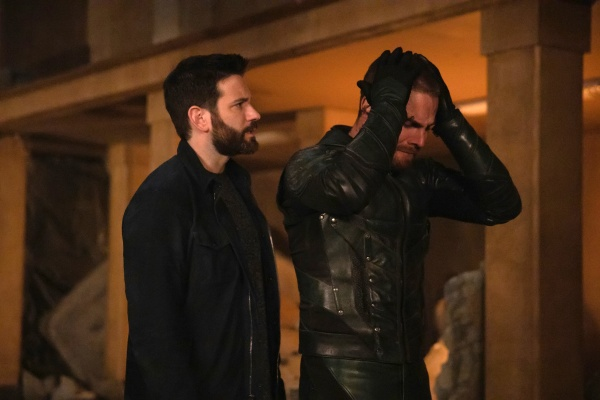 arrow living proof review - tommy and oliver