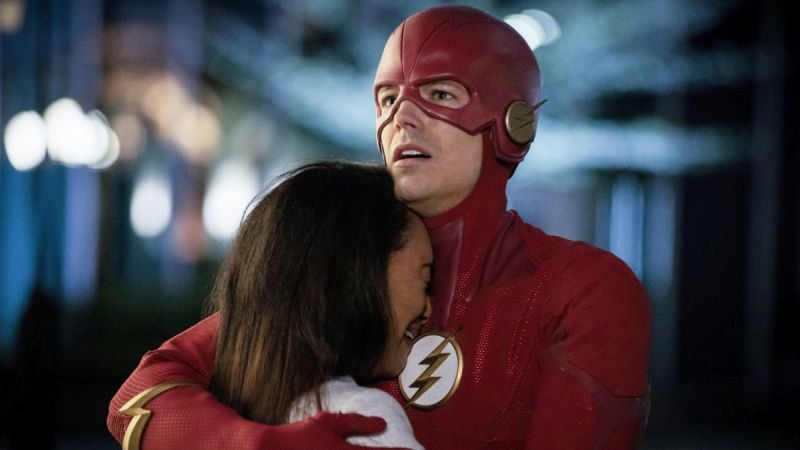 the flash legacy review - iris and barry