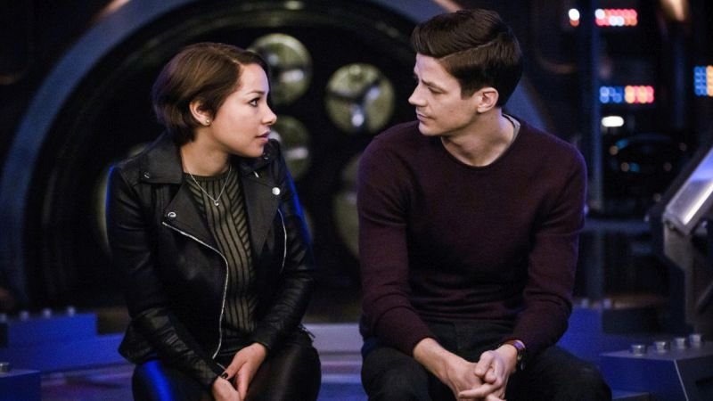 the flash legacy review - nora and barry