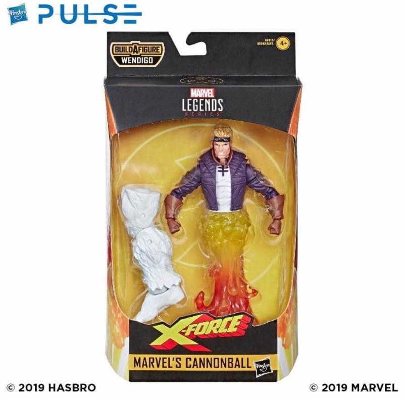 marvel legends x-Force BAF Wendigo Cannonball