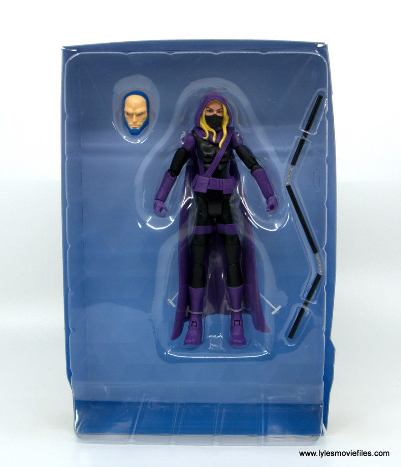 DC Multiverse Spoiler figure review - accesories in tray