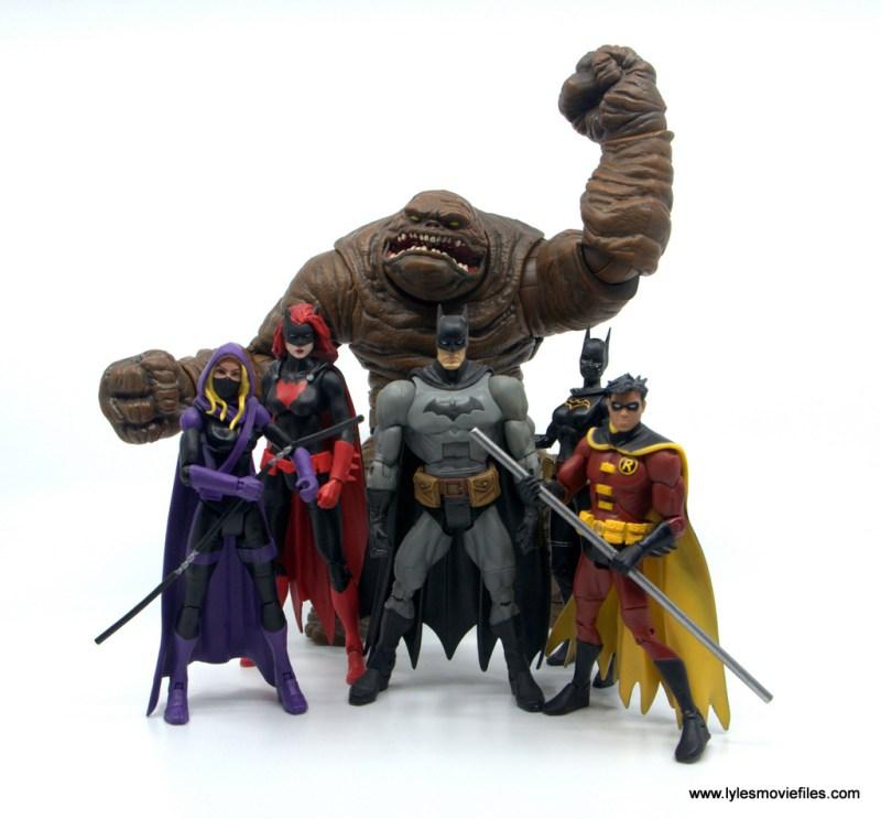 DC Multiverse Spoiler figure review - detective comics rebirth team