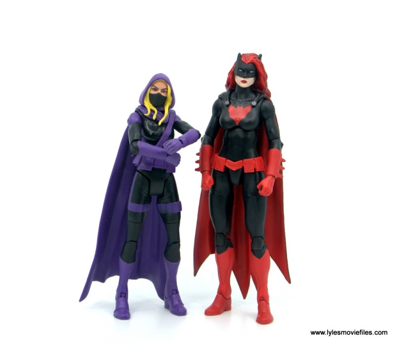DC Multiverse Spoiler figure review -scale with batwoman