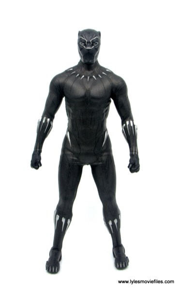 Hot Toys Black Panther figure review - front