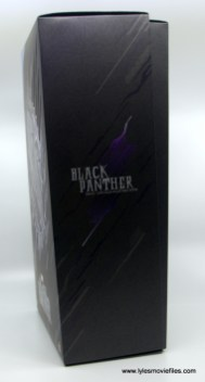 Hot Toys Black Panther figure review - package side