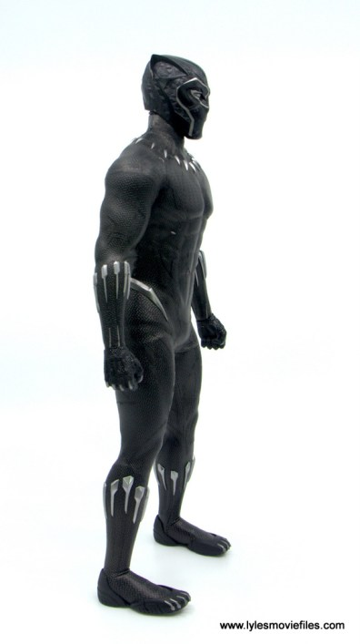 Hot Toys Black Panther figure review - right side