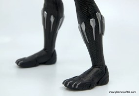 Hot Toys Black Panther figure review - shoe detail