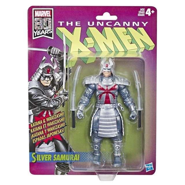 MARVEL X-MEN RETRO LEGENDS SERIES 6-INCH Figure Assortment - Silver Samurai (in pck)