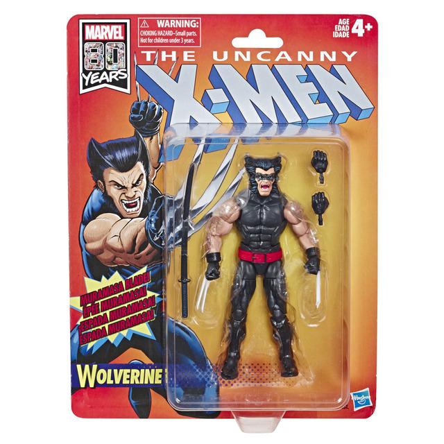 MARVEL X-MEN RETRO LEGENDS SERIES 6-INCH Figure Assortment - Wolverine (in pck)