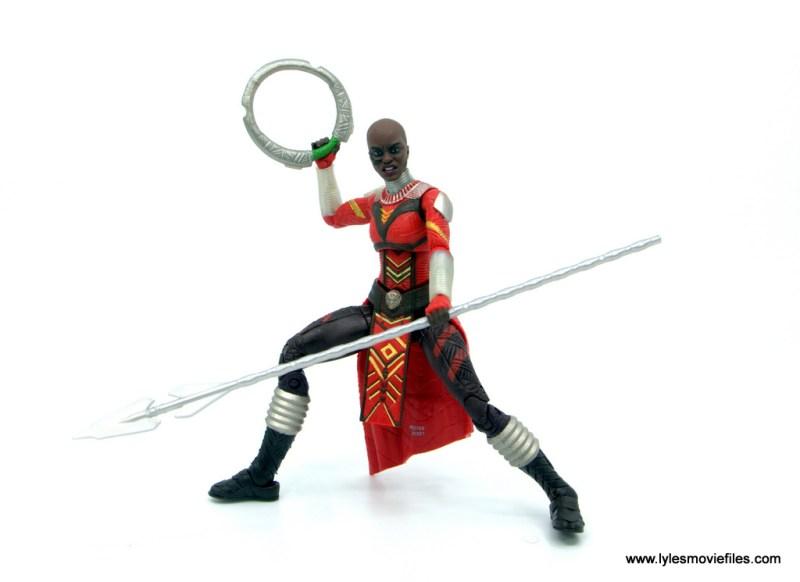 Marvel Legends Dora Milaje figure review - battle stance