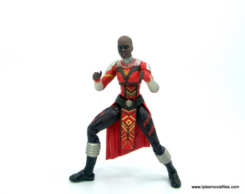 Marvel Legends Dora Milaje figure review - ready for a fight