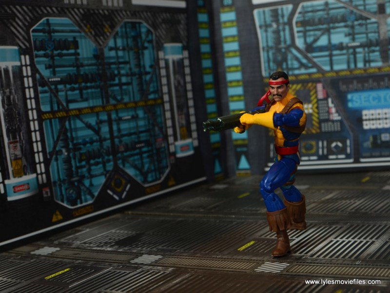 Marvel Legends Forge figure review - locked and loaded