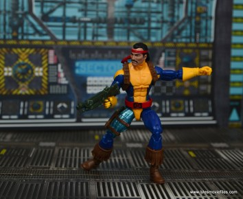 Marvel Legends Forge figure review - on alert