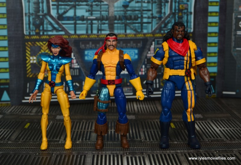Marvel Legends Forge figure review - with jean grey and bishop
