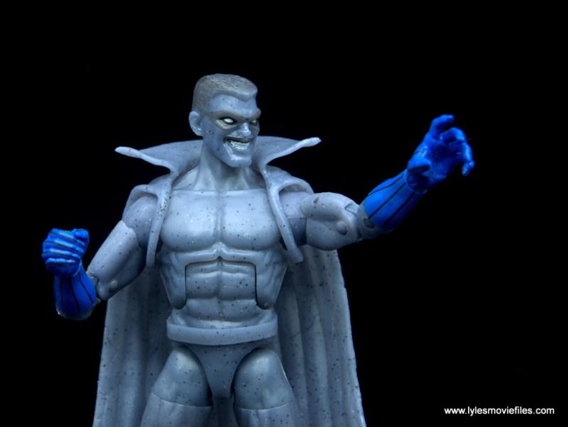 Marvel Legends Grey Gargoyle figure review -grabbing