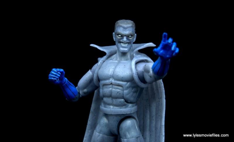 Marvel Legends Grey Gargoyle figure review - reaching out