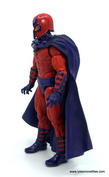 Marvel Legends Magneto, Quicksilver and Scarlet Witch figure review - magneto left side