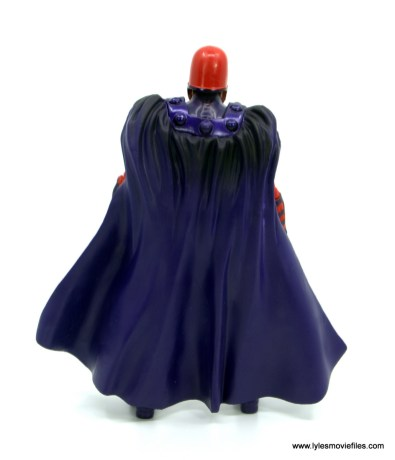 Marvel Legends Magneto, Quicksilver and Scarlet Witch figure review - magneto rear
