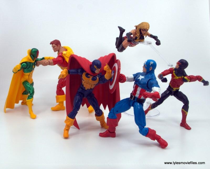 Marvel Legends Nighthawk figure review - Sinister Supreme vs Avengers