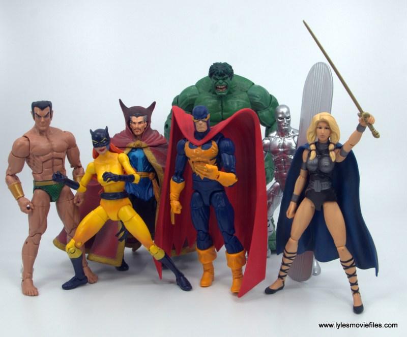 Marvel Legends Nighthawk figure review - defenders
