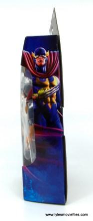 Marvel Legends Nighthawk figure review -package side