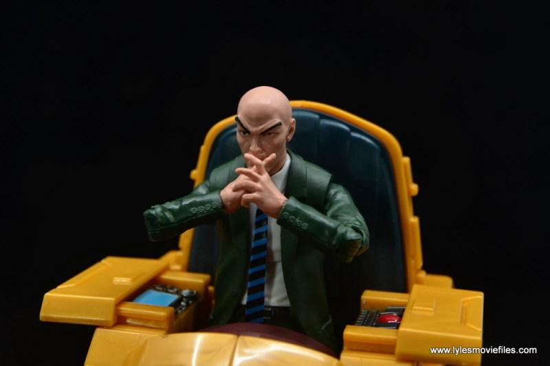 Marvel Legends Professor X figure review - contemplating