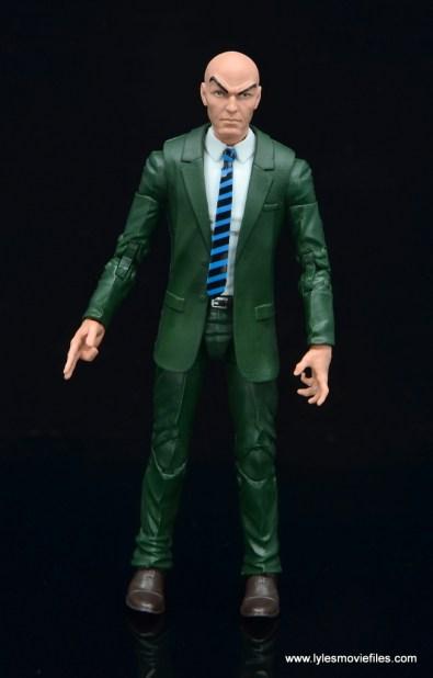 Marvel Legends Professor X figure review - front