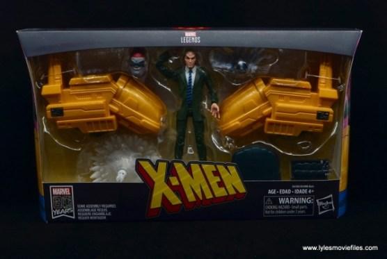 Marvel Legends Professor X figure review - package front