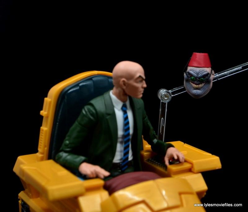 Marvel Legends Professor X figure review - vs shadow king