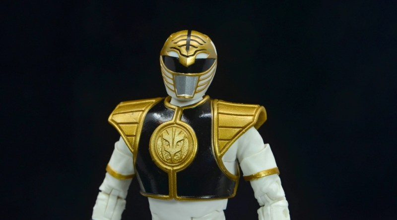 Power Rangers Lightning Collection White Ranger figure review - main pic