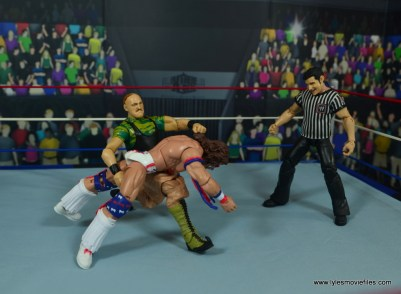 WWE Basic Sgt. Slaughter figure review - gut buster to ultimate warrior