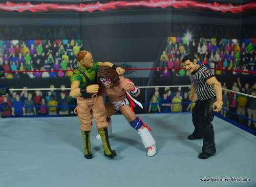WWE Basic Sgt. Slaughter figure review -headlock to ultimate warrior