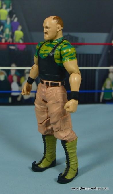 WWE Basic Sgt. Slaughter figure review - left side