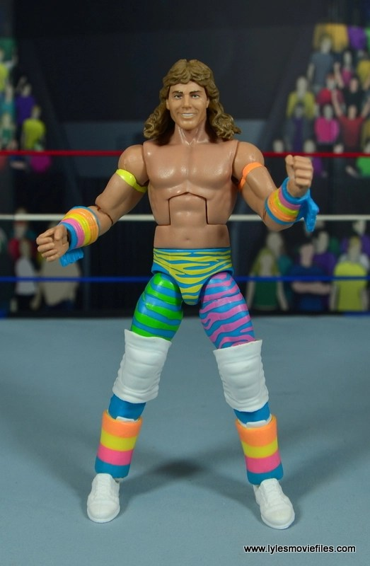WWE RetroFest Shawn Michaels figure review - front