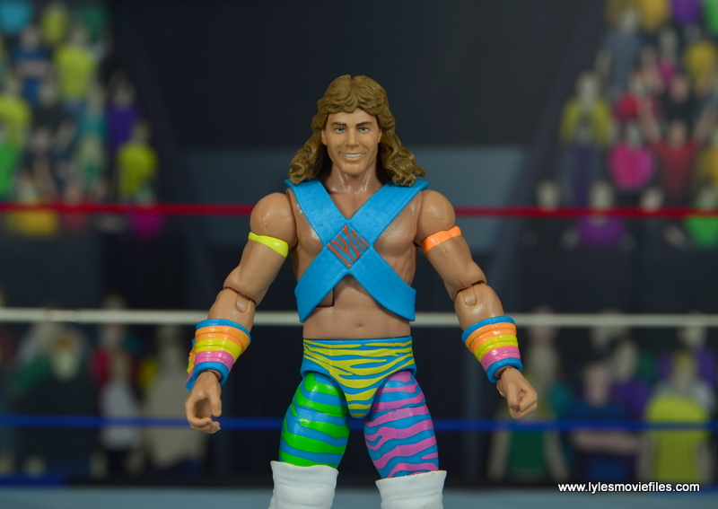 WWE RetroFest Shawn Michaels figure review -wide shot