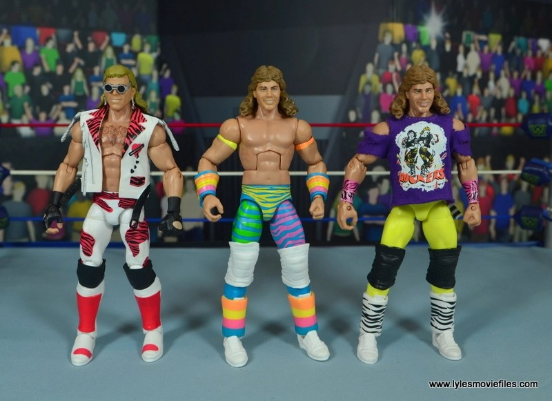 WWE RetroFest Shawn Michaels figure review - with heartbreak kid and original rockers shawn michaels