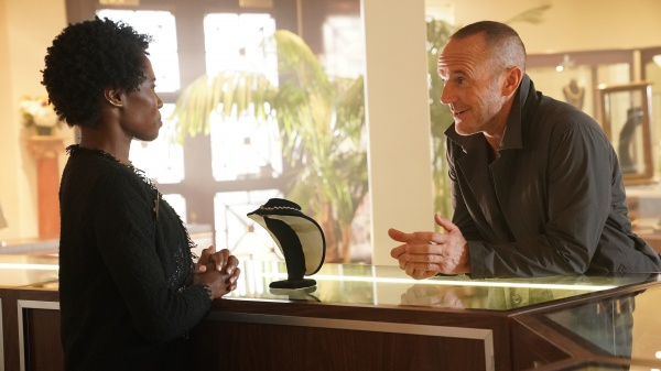 agents of shield window of opportunity - dana and sarge