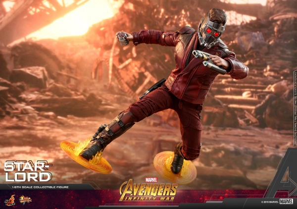 hot toys avengers infinity war star-lord figure -main shot