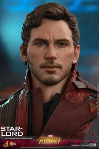 hot toys avengers infinity war star-lord figure -normal head