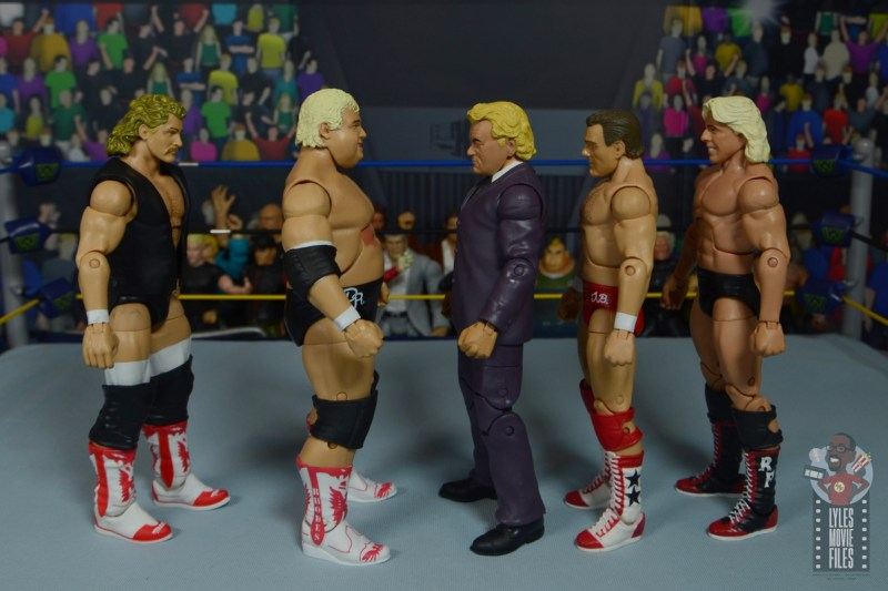 wwe build-a-figure jj dillon figure review -facing magnum, dusty, blanchard and flair