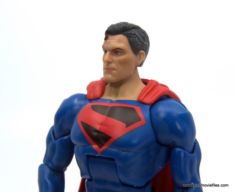 DC Multiverse Kingdom Come Superman figure review - close up detail